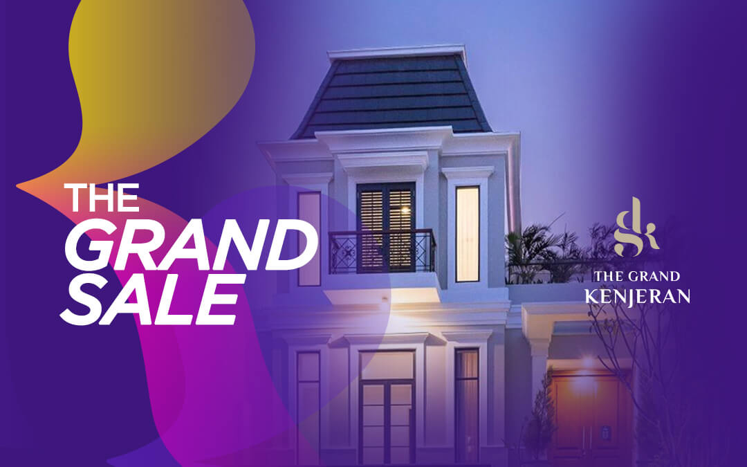 The Grand Sale, The First Live Streaming Event by The Grand Kenjeran